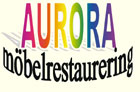 Aurora möbelrestaurerings logga