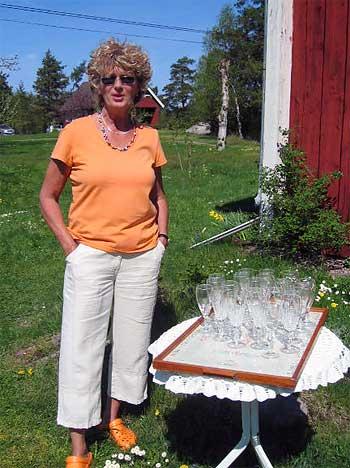 Monica Svederoth hälsar välkommen